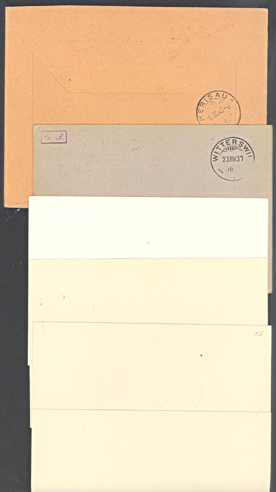 20 lettres cartes poste a r 1926 1953 fribourg acheter sur - Paiement a la livraison la poste ...